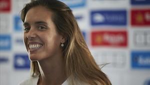 Ona Carbonell, este lunes en Sabadell.