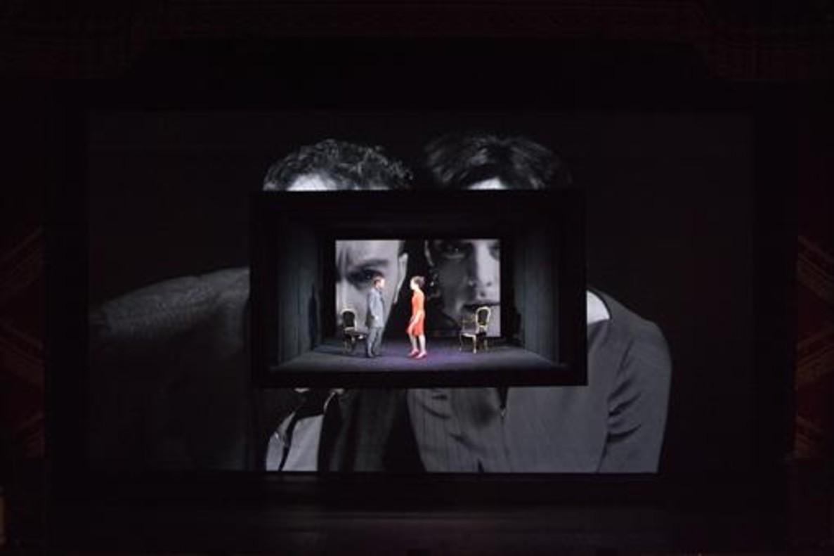 Una escenala ópera Quartett, que se representa en el Liceu del 22 de febrero al 3 de marzo.