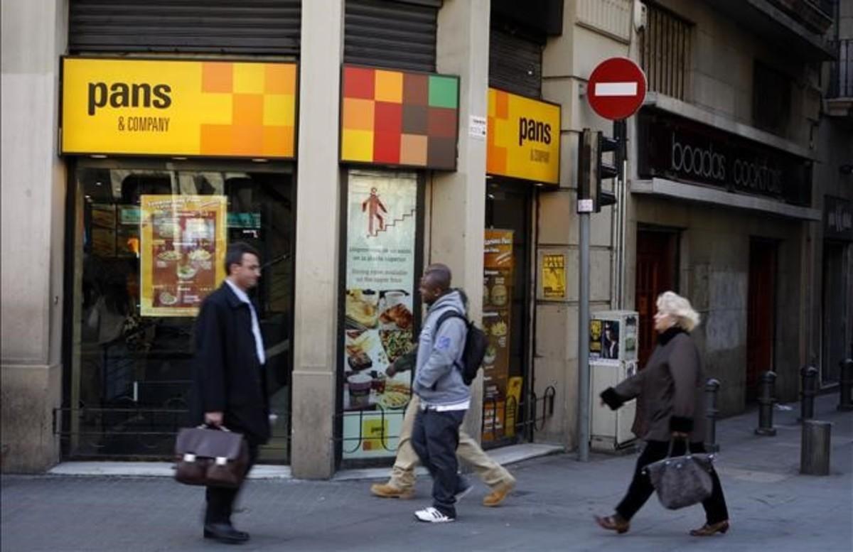 Un establecimiento de Pans & Company en Barcelona.