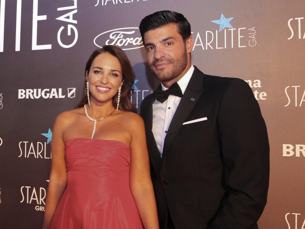 Paula Echevarría y Miguel Torres, en el festival Starlite, el pasado agosto en Marbella.