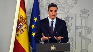 Pedro Sánchez oficializa el reconocimiento de Guaidó