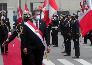 Manuel Merino, presidente de Perú.