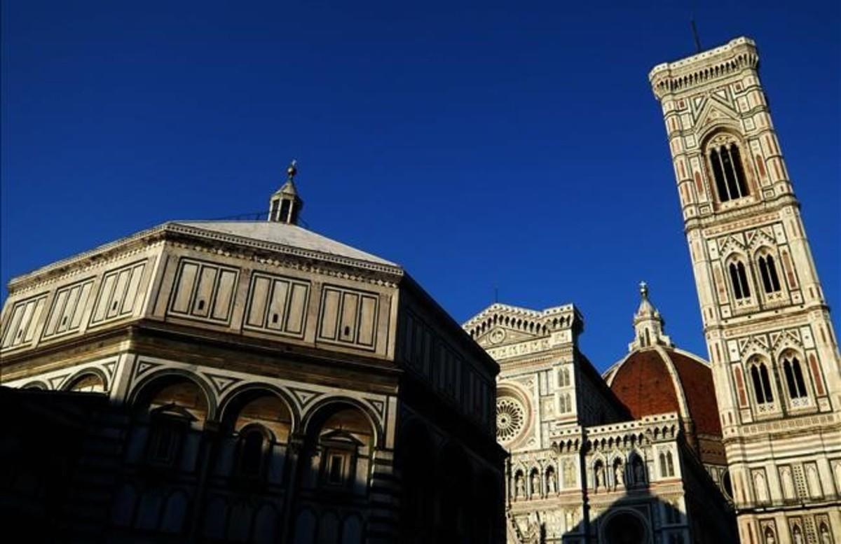 Plaza del Duomo en Florencia.
