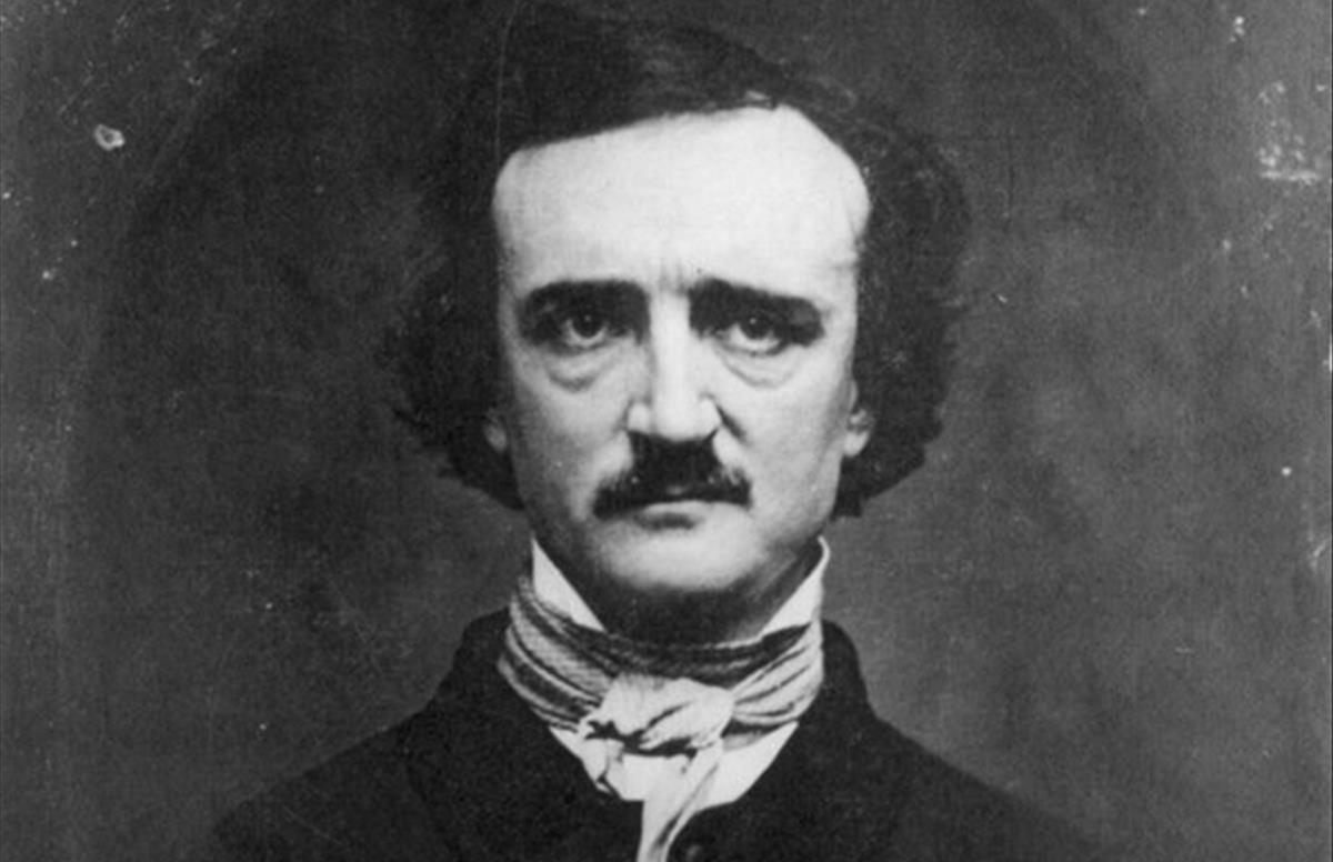 El narrador y poeta estadounidense Edgard Allan Poe.