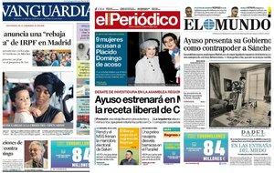 Prensa de hoy: Las portadas de los periódicos del miércoles 14 de agosto del 2019