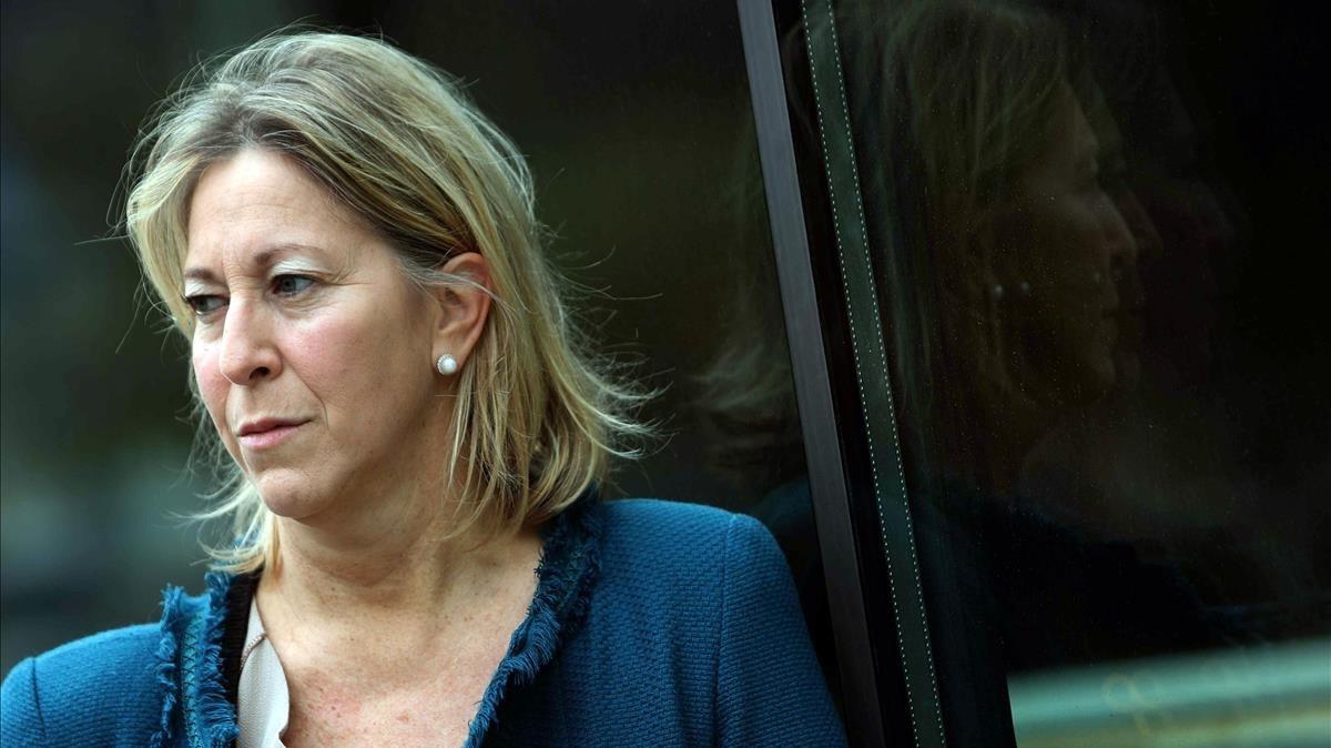 La presidenta del PDECaty 'exconsellera', Neus Munté.