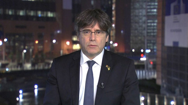 Puigdemont quieren colgarme la etiqueta de terrorista y facilitar la Euro-orden.