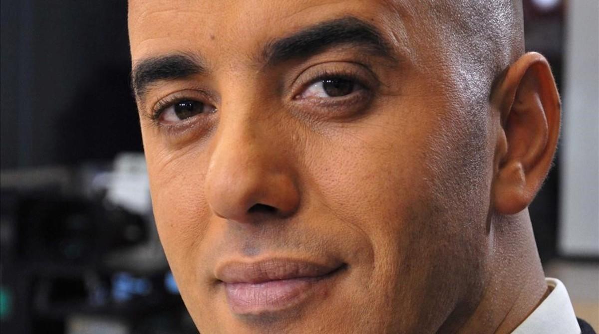 Rédoine Faïd, el preso fugado de la cárcel en una entrevista en la televisión francesa en 2010.