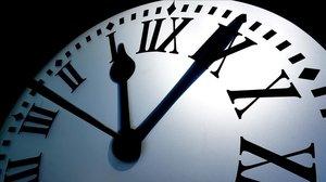 El reloj de la Puerta del Sol en una imagen de archivo.
