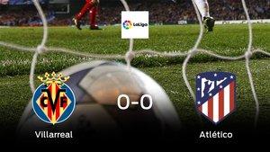 Reparto de puntos entre el Villarreal y el Atlético de Madrid (0-0)