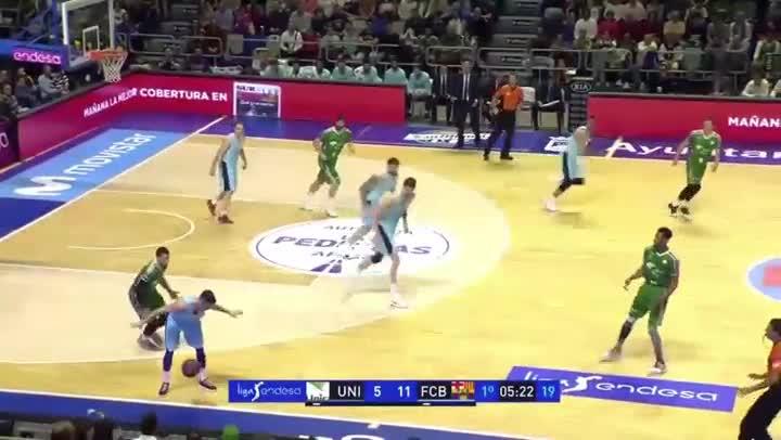 Resumen del vídeo enviado por el Barça a la ACB con algunas de las acciones que consideraperjudiciales