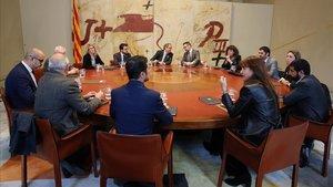 Reunión del Govern.