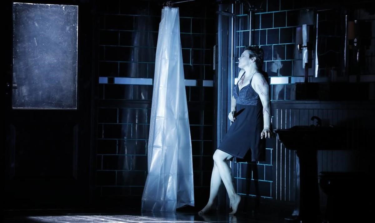 Ausrinè Stundytè(Renata), en El ángel de fuego, de Serguéi Prokófiev, en una producción estrenada en el Festival de Aix-en-Provence