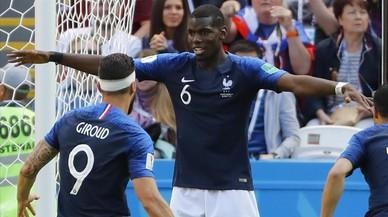 La tecnología salva a Francia con dos goles para la historia