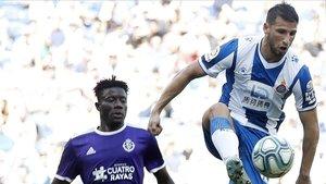Un Espanyol sense rumb cau davant del Valladolid i segueix en caiguda lliure