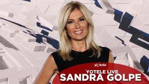 Sandra Golpe, presentadora y directora de 'Antena 3 Noticias 1'.