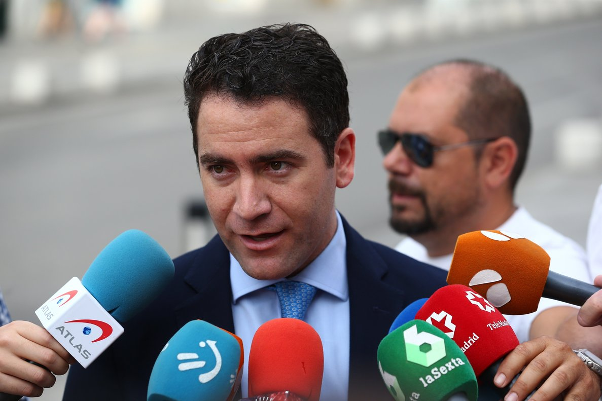 El secretario general del PP, Teodoro García Egea.