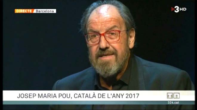 Pou, 'Català de l'Any' ('TN vespre', TV-3).