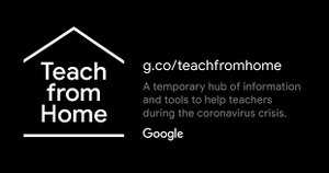 Teach from home, de Google.