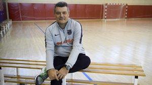 El técnico del Barça, Xavi Pascual, en una imagen reciente