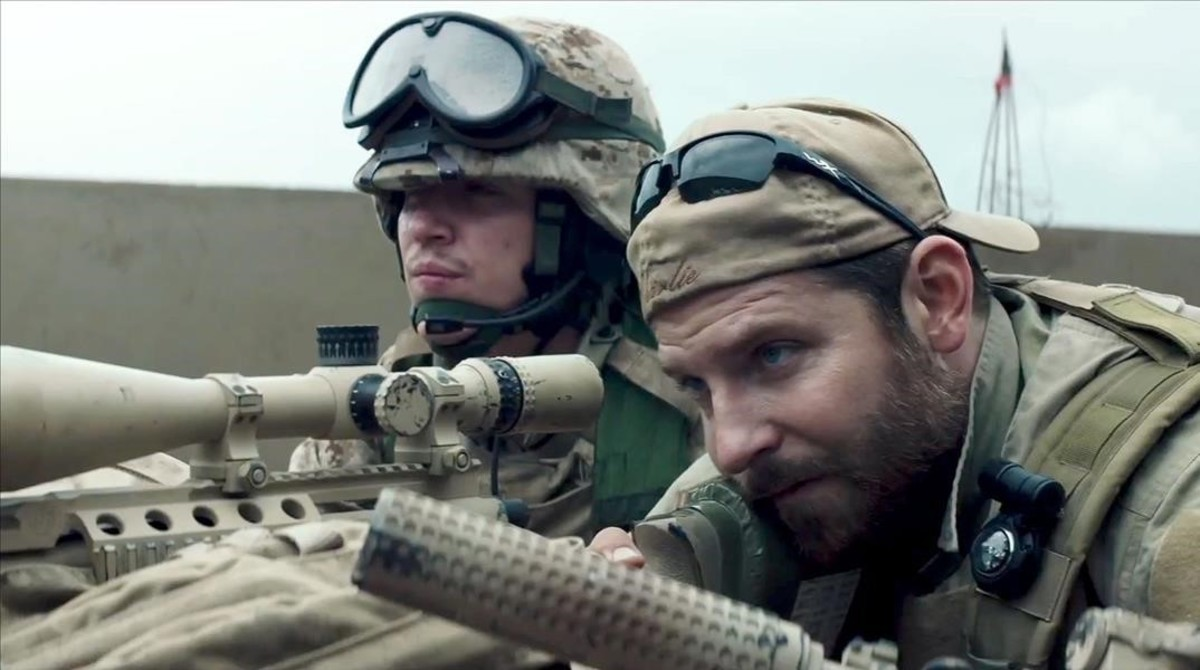 Bradley Cooper, en una escena de la película El francotirador.