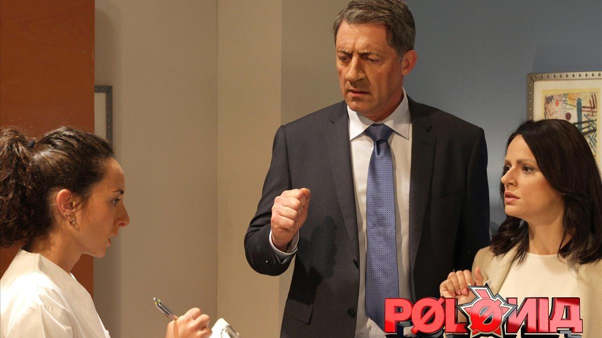 Imagen del programa de sátira política de TV-3 Polònia.