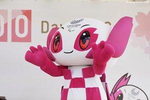Imagen de la mascota de los Juegos de Tokio.