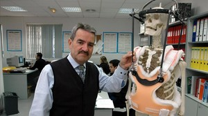Lluís Márquez, gerente de la empresa de prótesis Traiber, en el 2005.