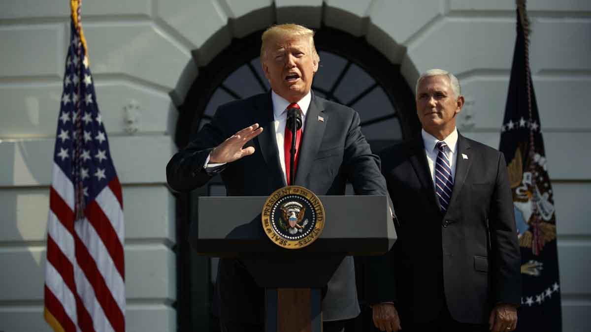Trump celebra asombroso dato de crecimiento del 4,1 % en segundo trimestre