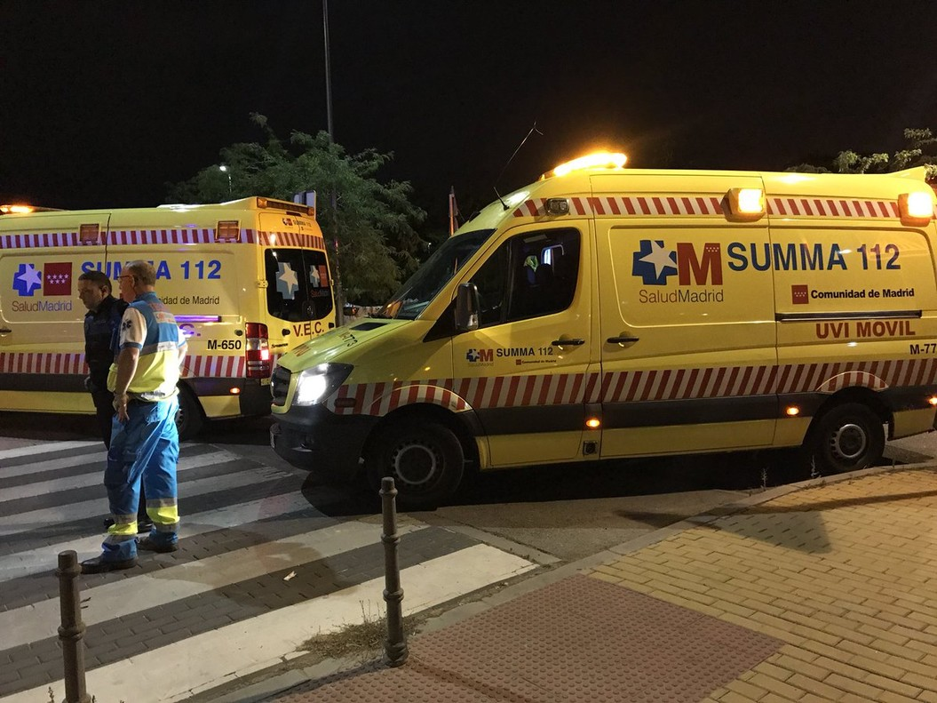 Una ambulancia del Summa.