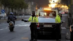 Restricciones de tráfico en Madrid.