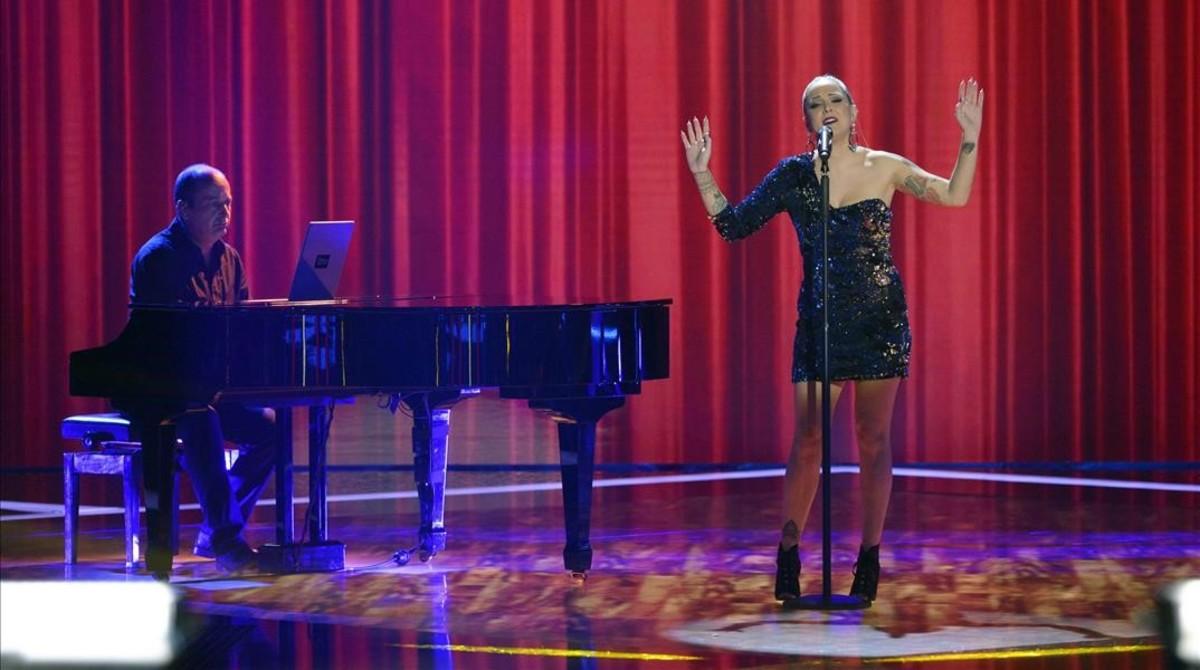 Alba Gil, ganadora de la quinta edición de 'La voz'.