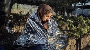 Uno de los retratos recogidos en Lesbos, proyecto centrado en los refugiados que llegan a la isla griega.