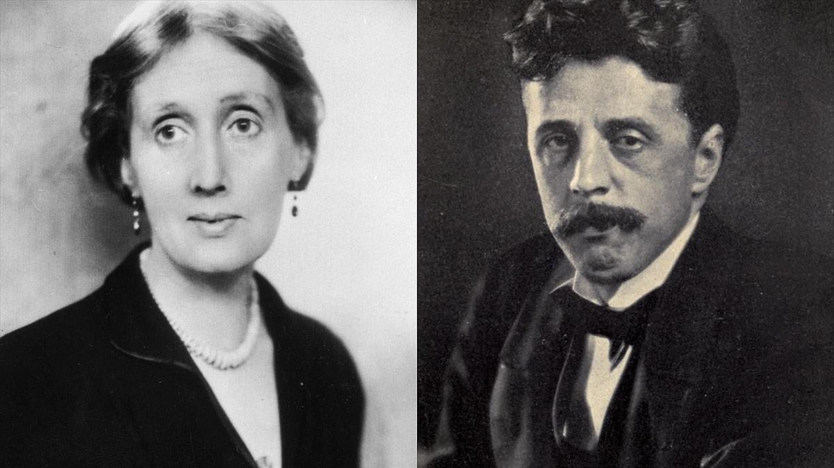 Virginia Woolf y Arnold Bennett