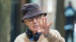 Woody Allen, en un rodaje en Nueva York, el 2017.