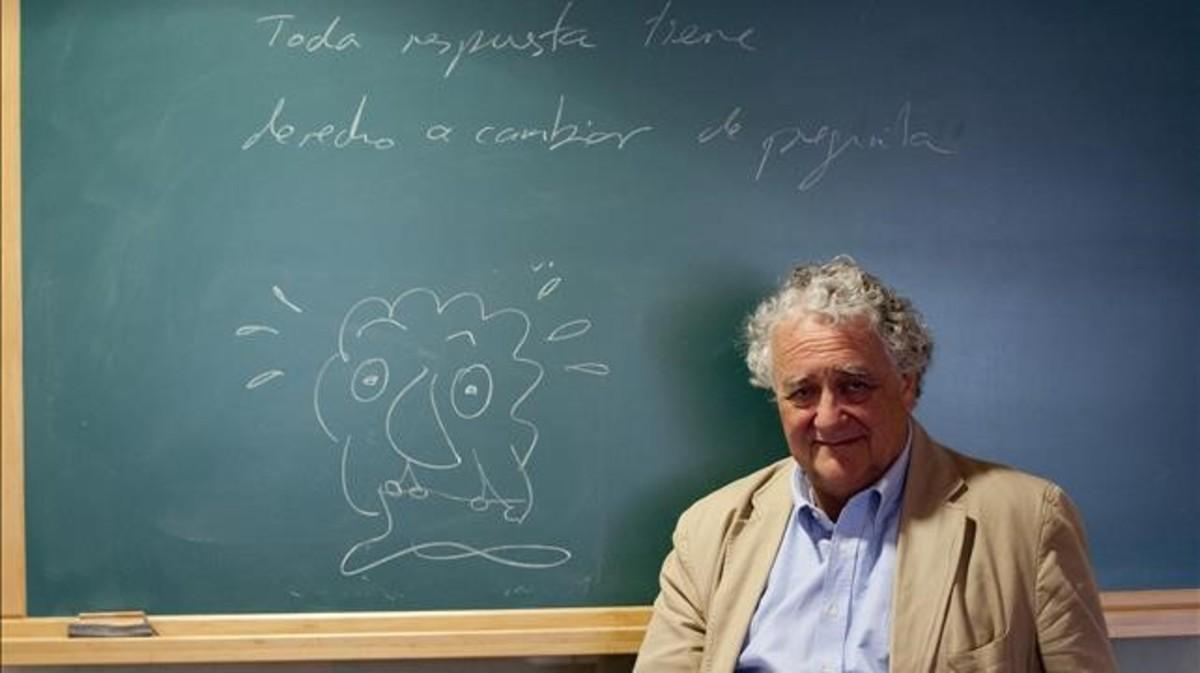 Jorge Wagensberg, autor de 'Teoría de la creatividad'.