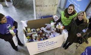 El Banc d'Aliments busca 28.000 voluntaris per a la campanya Gran Recapte 2019