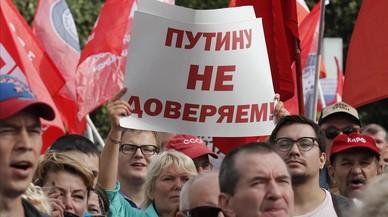 La reforma de les pensions i la possibilitat de noves sancions agiten la tardor política a Rússia