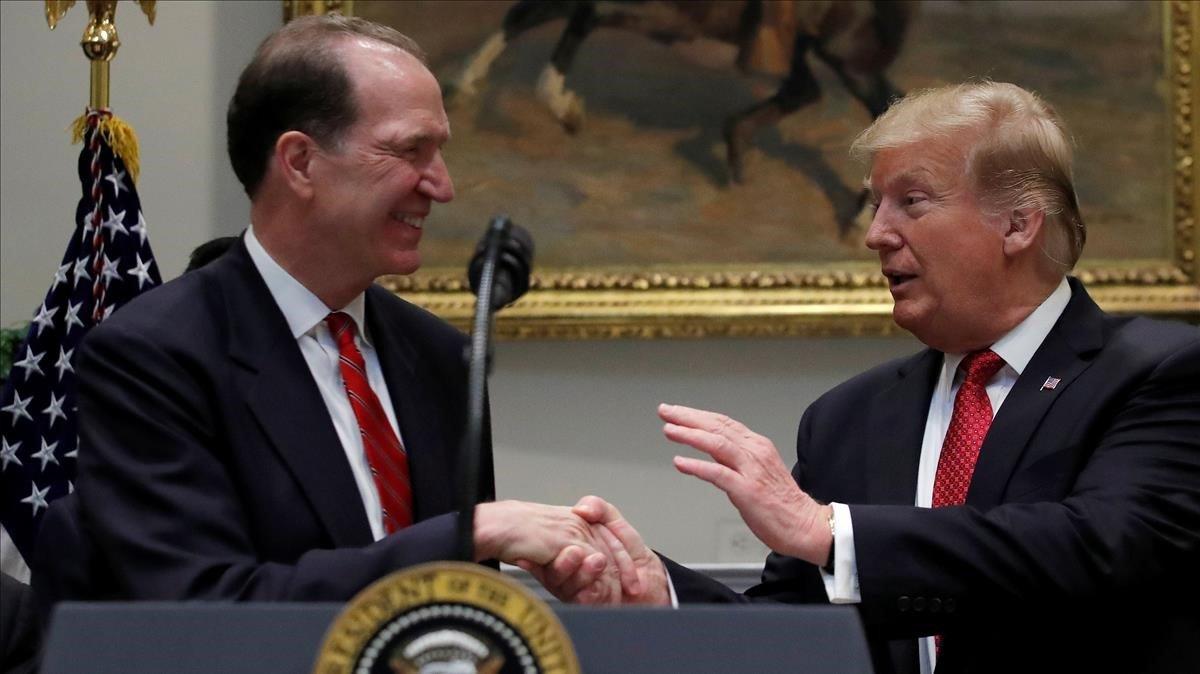Trump proposa un crític del Banc Mundial per dirigir el Banc Mundial