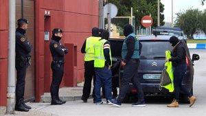 Operación contra el narcotráfico en La Línea de la Concepción.