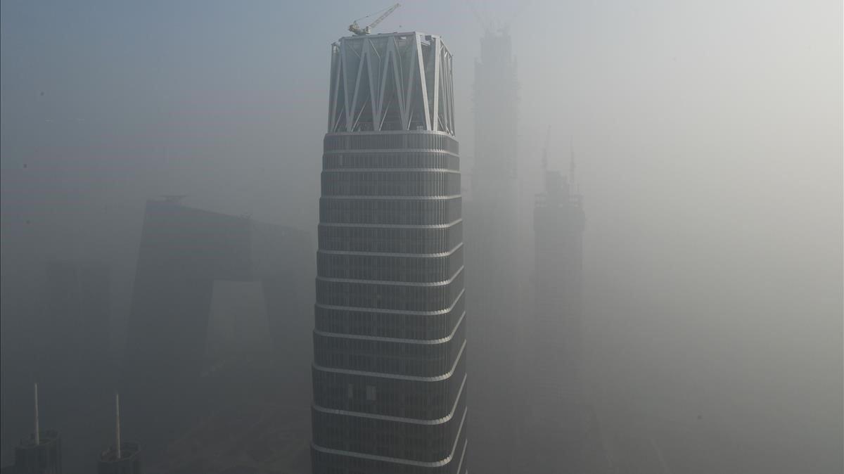 Contaminación en Pekín.