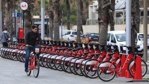 Vaga indefinida al Bicing de Barcelona des del 8 d'octubre