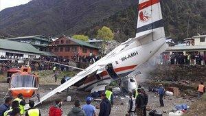 Almenys tres morts i tres ferits en un accident d'avió al Nepal