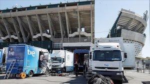 TVE-1 finalment emetrà la Copa del Rei