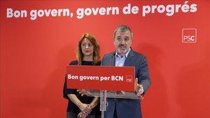 """Collboni reclama a Colau un govern """"paritari"""" i """"respecte a la Constitució"""""""