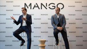 Toni Ruiz (izquierda) y Anotnio Pascual, directivos de Mango.