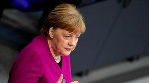 Merkel es mostra disposada a augmentar la contribució alemanya al pressupost europeu