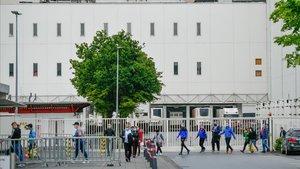 El brot de l'escorxador d'Alemanya va infectar en un radi de vuit metres