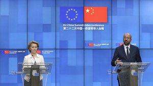 La UE i la Xina xoquen sobre Hong Kong i la relacions comercials bilaterals