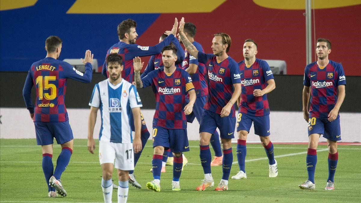El Barça envia l'Espanyol a Segona amb un triomf mínim